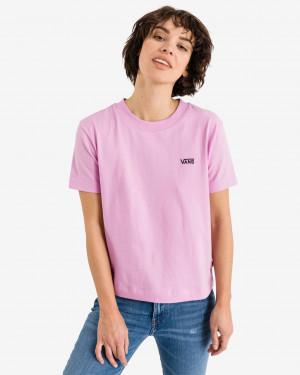 Vans růžové tričko Junior V Boxy