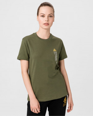 Vans zelené tričko 66 Supply Tri