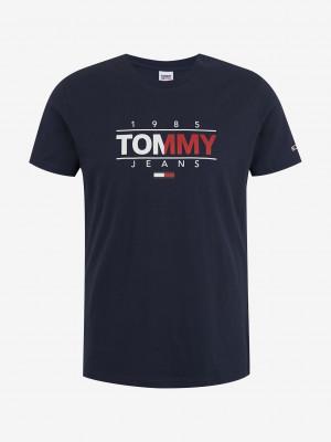 Essential Graphic Triko Tommy Jeans Modrá