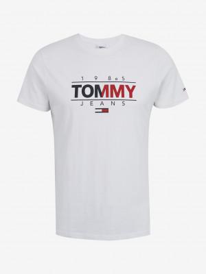 Essential Graphic Triko Tommy Jeans Bílá
