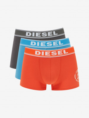 Boxerky 3 ks Diesel Oranžová