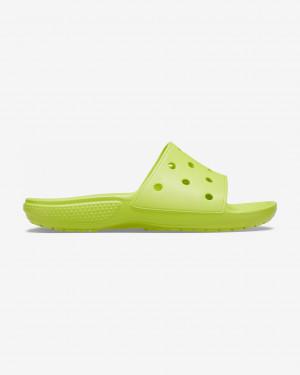 Crocs Classic Pantofle Zelená Žlutá - 42-43