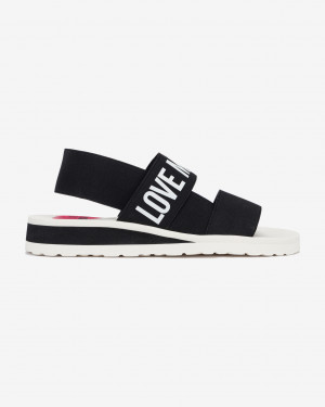 Love Moschino Sandále Černá -