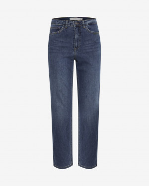 ICHI Jeans Modrá - S-M