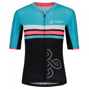 Dámský týmový cyklistický dres Corridor-w světle modrá - Kilpi