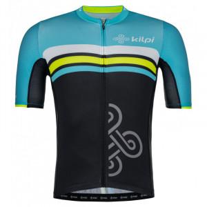 Pánský týmový cyklistický dres Corridor-m světle modrá - Kilpi