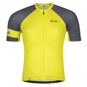 Pánský cyklistický dres Selva-m světle zelená - Kilpi