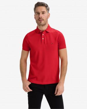 Tommy Hilfiger červené pánské polo tričko 1985