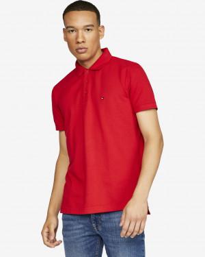 Tommy Hilfiger červené pánské polo tričko