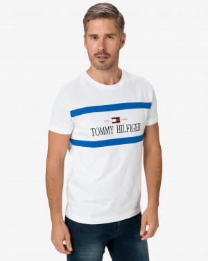 Tommy Hilfiger bílé pánské tričko