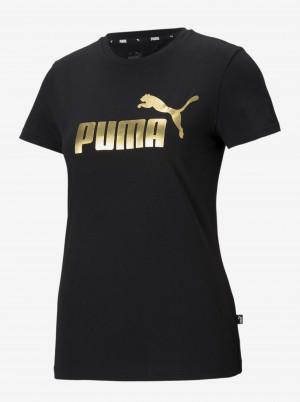 Černé dámské tričko Puma