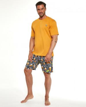 Pánské pyžamo KR 326/192 BEER POMARAŃCZOWY