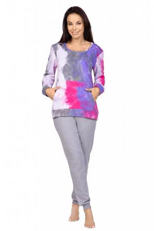 Dámské pyžamo Regina 979 dł/r 2XL purpurová