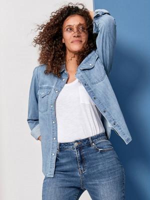 Košile M&Co Modrá