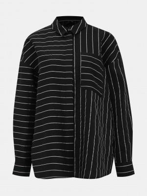 Hannnah Košile Vero Moda Černá