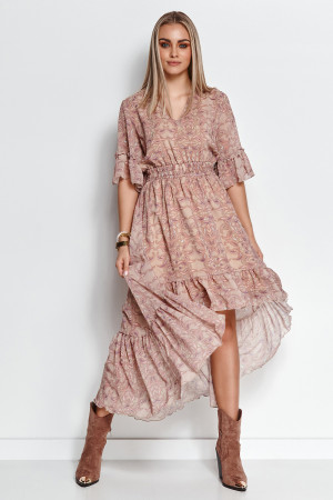 Denní šaty model 156485 Makadamia  36/38