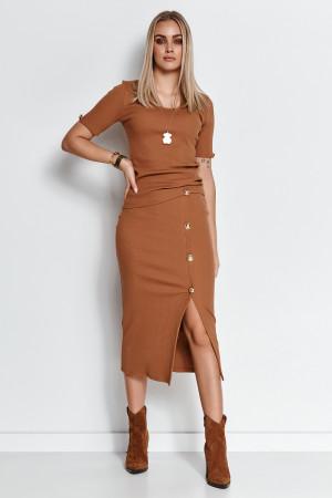 Denní šaty model 156488 Makadamia  36/38