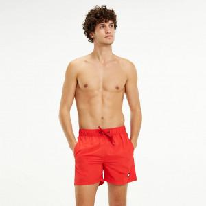 Pánské šortky UM0UM01078-669 červená - Tommy Hilfiger červená