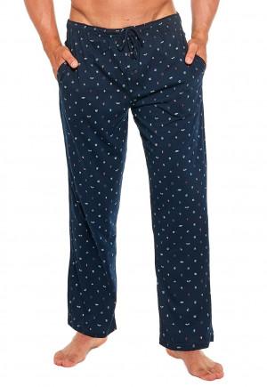 Pánské pyžamové kalhoty Cornette 691/32 XXL Tm. modrá