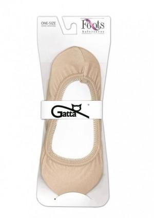 Ponožky do balerín Foots Baletky 04 - Gatta beige uni