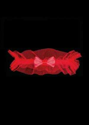 Dámský podvazek Julimex PW-94 Valencie czerwony uniwersalny