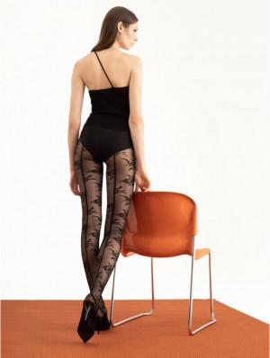 Dámské punčochové kalhoty VELVET ROSE - 30 DEN CZEROWNY 4