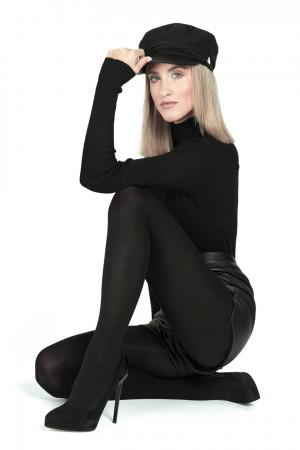 Dámské punčochové kalhoty MONA MICRO MATT 50 DEN -5 NERO 5-XL