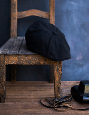 Čepice bekovka Art 21376 Charlie black 59-60