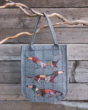 Dámská taška Art 21413 Tofik grey 35x42x9 cm