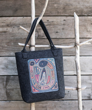 Dámská taška Art 21412 Kinszasa graphite 36x34 cm