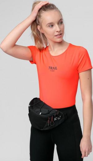 Dámské funkční tričko 4F TSDF060 lososové neon Korálová