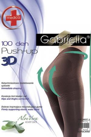 Dámské punčochy Medica Push-up 100 DEN Code 171 - Gabriella černá 5-XL