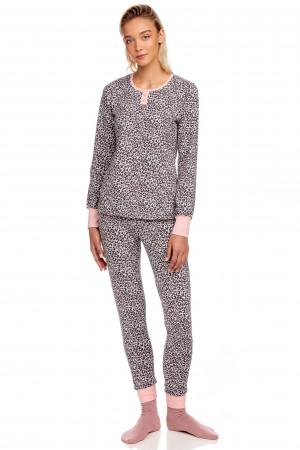 Dámské pyžamo 15445 - 271 - Pudrová růžová - Vamp pudrově růžová