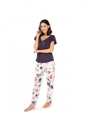 Dámské pyžamo Babella Missy L Purple