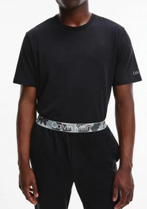 Pánské tričko Calvin Klein NM2192 L Černá