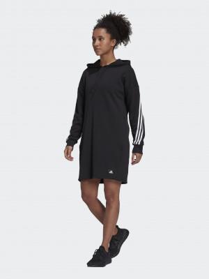 3-Stripes Šaty adidas Performance Černá