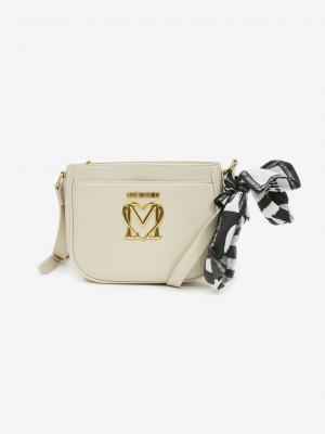 Cross body bag Love Moschino Bílá