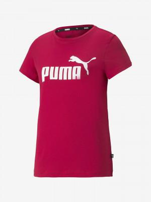 ESS Logo Triko Puma Červená