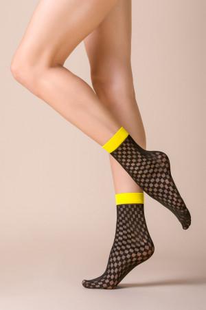 Hrubší ponožky se vzorem VAN NERO UNIWERSALNY