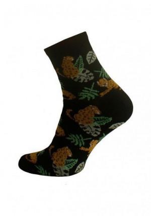 Bratex D-001 vzor Dámské ponožky 39-41 Béžový Melanž