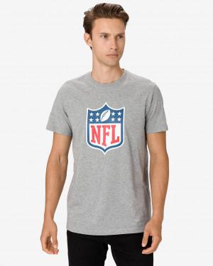 New Era NFL Team Logo Triko Šedá