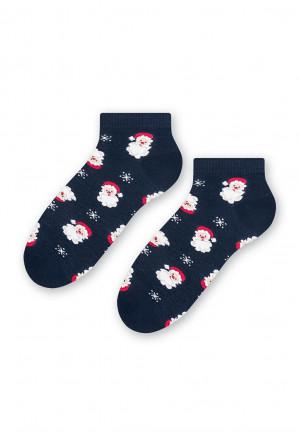 Pánské sváteční ponožky Steven art.136 41-46 czarne 41-43