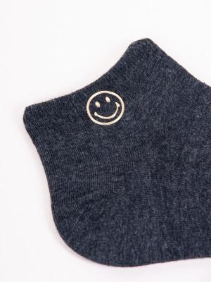 Dámské ponožky s ozdobnými kamínky SKS-0001 36-41