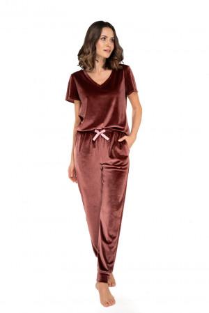 Dámský dres/pyžamo AUDREY BLACK\RED