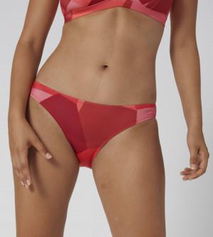 Spodní díl plavek women Shore Kiritimati Mini červený - Sloggi RED - LIGHT COMBINATION