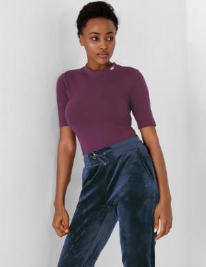 Dámské tričko 4F H4Z21-TSD013 fialové Fialová