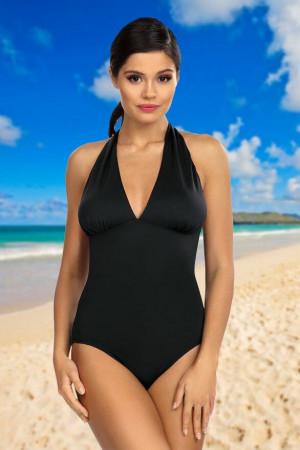 Jednodílné dámské plavky Jasmine černé černá