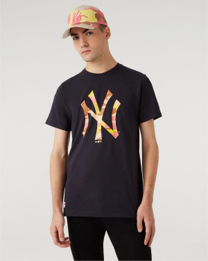 New Era New York Yankees MLB Triko Modrá