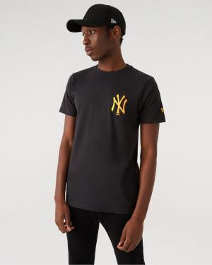New Era New York Yankees MLB Triko Šedá