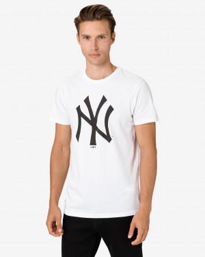 New Era New York Yankees Triko Bílá